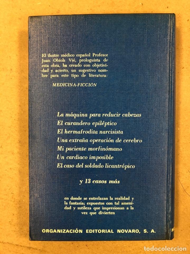 Libros de segunda mano: 20 CASOS CLÍNICOS SORPRENDENTES. EDITORIAL NOVARO 1972. 219 PÁGINAS. TAPA DURA. - Foto 7 - 180329031