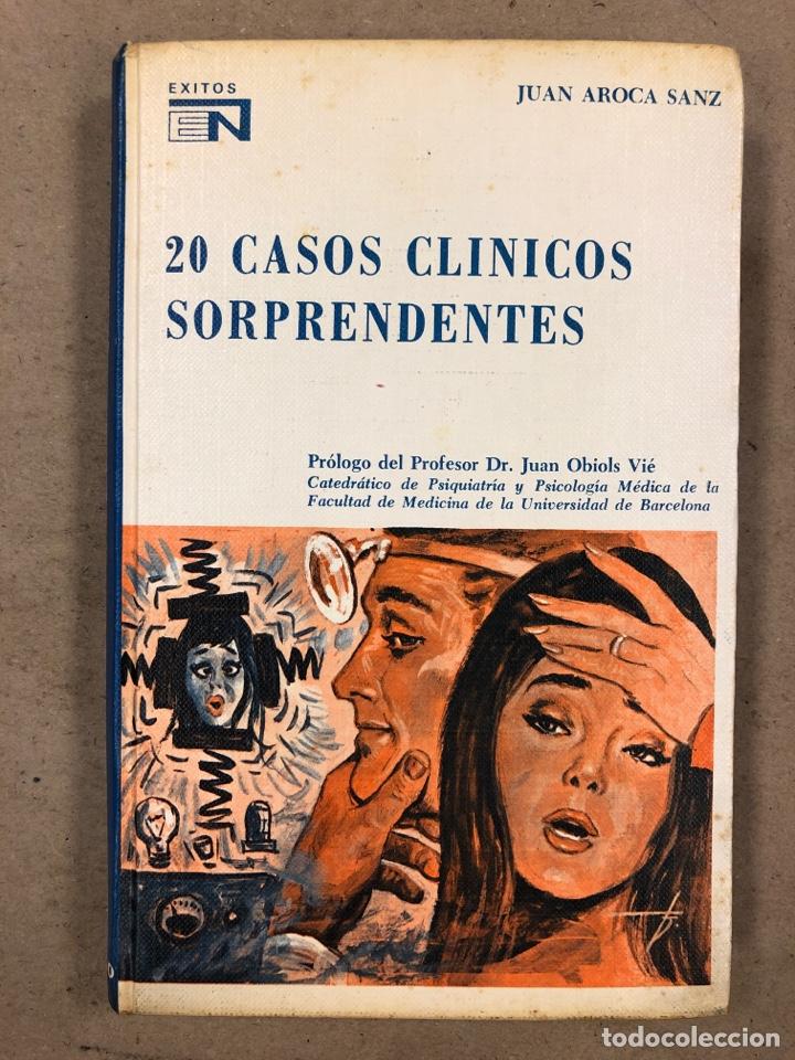 20 CASOS CLÍNICOS SORPRENDENTES. EDITORIAL NOVARO 1972. 219 PÁGINAS. TAPA DURA. (Libros de Segunda Mano - Ciencias, Manuales y Oficios - Medicina, Farmacia y Salud)