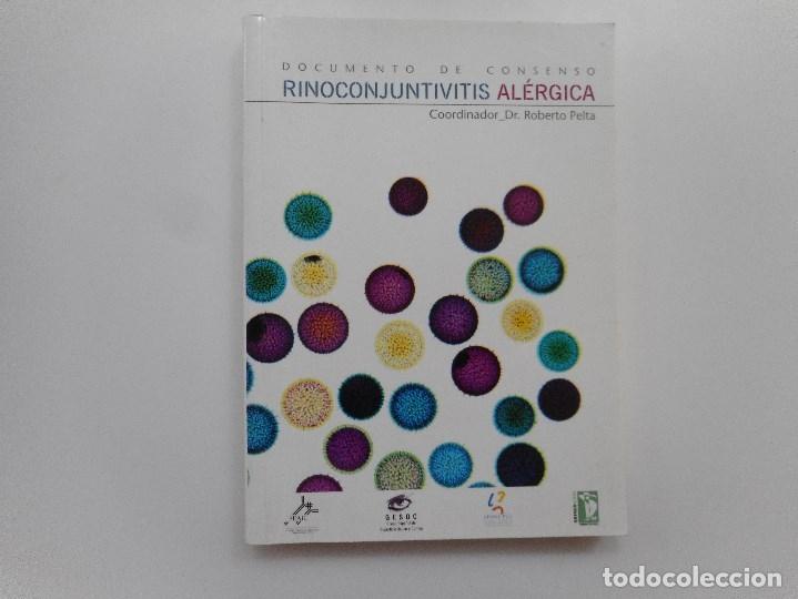 DR. ROBERTO PELTA RINOCONJUNTIVITIS ALÉRGICAS Y96597 (Libros de Segunda Mano - Ciencias, Manuales y Oficios - Medicina, Farmacia y Salud)