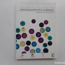 Libros de segunda mano: DR. ROBERTO PELTA RINOCONJUNTIVITIS ALÉRGICAS Y96597. Lote 180330937