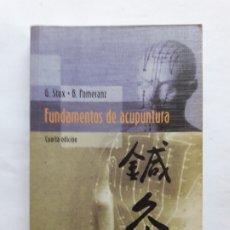 Libros de segunda mano: FUNDAMENTOS DE ACUPUNTURA - GABRIEL STUX. BRUCE POMERANZ, 2004. Lote 180340015