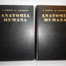 Libros de segunda mano: L. TESTUT Y A. LATARJET TRATADO DE ANATOMÍA HUMANA Y96799 . Lote 182156635