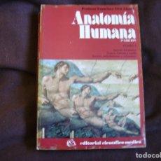 Libros de segunda mano: ANATOMÍA HUMANA. Lote 182495413
