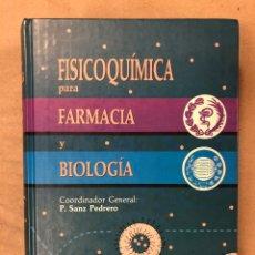 Libros de segunda mano: FISICOQUÍMICA PARA FARMACIA Y BIOLOGÍA. P. SANZ PEDRERO. EDITA: MASSON 1996. ILUSTRADO. 991 PÁGINAS. Lote 182526081