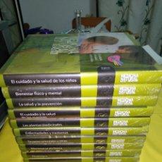 Libros de segunda mano: MEDICINA NATURAL SALUD Y BIENESTAR 12 TOMOS PRESINTADOS OBRA COMPLETA. Lote 182646872
