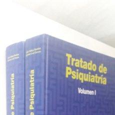Libros de segunda mano: TRATADO DE PSIQUIATRÍA I Y II - JULIO VALLEJO RUILOBA, CARMEN LEAL CERCÓS. Lote 182811603
