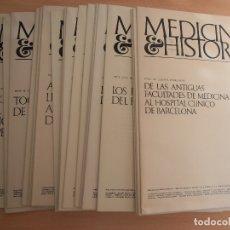 Libros de segunda mano: 2 TOMOS(50 NÚMEROS) MEDICINA E HISTORIA PUBLICACIONES MÉDICAS BIOHORM AÑOS 1964 AL 1968.NUEVOS.. Lote 183013032