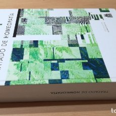 Libros de segunda mano: TRATADO DE HOMEOPATIA - PAIDOTRIBOHOMEOPATIA ALTERNATIVA NATURALE602. Lote 183232826
