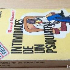 Libros de segunda mano: INTIMIDADES DE UN PSIQUIATRA - DAVID VISCOTT - ULTRAMAR/ G404. Lote 183517327