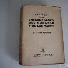 Libros de segunda mano: TRATADO DE LAS ENFERMEDADES DEL CORAZÓN Y LOS VASOS ERNST ROMBERG EDITORIALLABOR. Lote 183545096