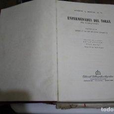 Libros de segunda mano: ENFERMEDADES DEL TÓRAX NO TUBERCULOSAS ANDREW L. BANYAI. Lote 183683700