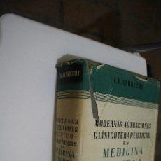 Libros de segunda mano: MODERNAS ACTUACIONES CLINICOERAPEUTICAS EN MEDINA INTERNA KENNETH ALBRECHT LABOR 1950. Lote 183684693