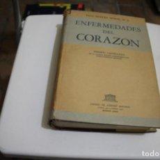 Libros de segunda mano: ENFERMEDADES DEL CORAZON PAUL DUDLEY WHITE . Lote 183685145