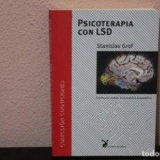 Libros de segunda mano: PSICOTERAPIA CON LSD. Lote 183796293