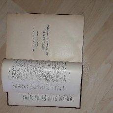 Libros de segunda mano: CRENOTERAPIA, CLIMATOTERAPIA, TALASOTERAPIA. A. GILBERT Y P. CARNOT. TOMO VIII. Lote 183855252