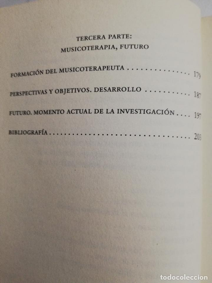 Libros de segunda mano: CÓMO CURA LA MUSICOTERAPIA. CÓMO ARMONIZAR CUERPO Y MENTE A TRAVÉS DE LA MÚSICA (SÁINZ DE LA MAZA) - Foto 6 - 183857581