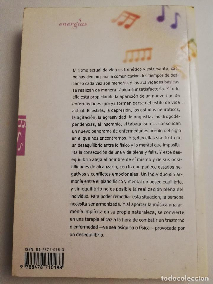 Libros de segunda mano: CÓMO CURA LA MUSICOTERAPIA. CÓMO ARMONIZAR CUERPO Y MENTE A TRAVÉS DE LA MÚSICA (SÁINZ DE LA MAZA) - Foto 7 - 183857581