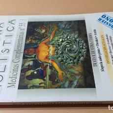 Livres d'occasion: MEDICINA HOLISTICA MEDICINAS COMPLEMENTARIAS 55HOMEOPATICA NATURAL ALTERNATIVA/ G405. Lote 184181418