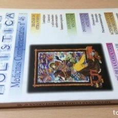 Livres d'occasion: MEDICINA HOLISTICA MEDICINAS COMPLEMENTARIAS 46HOMEOPATICA NATURAL ALTERNATIVA/ G405. Lote 184182073