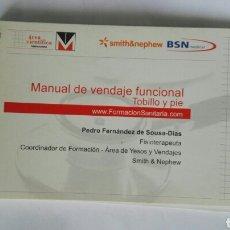 Libros de segunda mano: MANUAL DE VENDAJE FUNCIONAL TOBILLO Y PIE. Lote 184315706