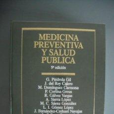 Libros de segunda mano: MEDICINA PREVENTIVA Y SALUD PUBLICA MASSON - VV.AAA.. Lote 184327112