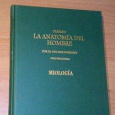 Libros de segunda mano: DOCTOR [JEAN MARC] BOURGERY - TRATADO LA ANATOMÍA DEL HOMBRE. ANATOMÍA DESCRIPTIVA. MIOLOGÍA. Lote 101200387