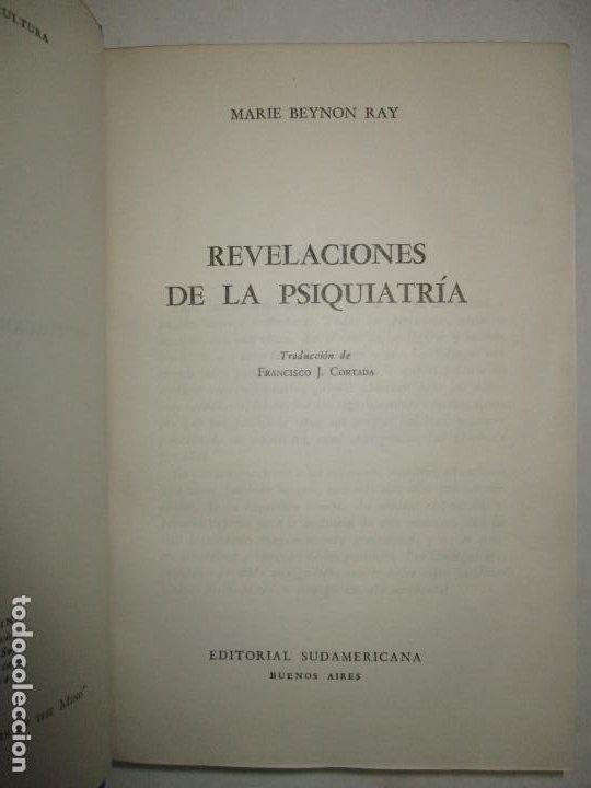 Libros de segunda mano: REVELACIONES DE LA PSIQUIATRÍA. - BEYNON RAY, Marie. 1946. - Foto 2 - 123164804