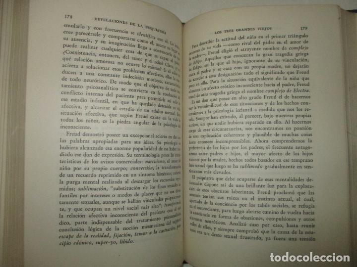 Libros de segunda mano: REVELACIONES DE LA PSIQUIATRÍA. - BEYNON RAY, Marie. 1946. - Foto 4 - 123164804