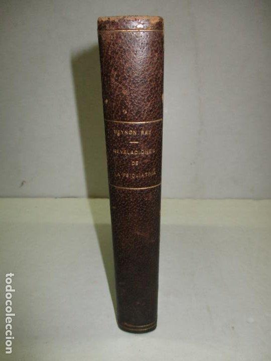 REVELACIONES DE LA PSIQUIATRÍA. - BEYNON RAY, MARIE. 1946. (Libros de Segunda Mano - Ciencias, Manuales y Oficios - Medicina, Farmacia y Salud)