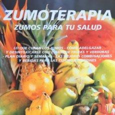 Libros de segunda mano: ZUMOTERAPIA, ZUMOS PARA TU SALUD. VITAL 2001. Lote 184628671