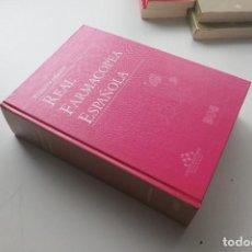 Libros de segunda mano: REAL FARMACOPEA ESPAÑOLA 1 EDICION 1997 . Lote 184729587
