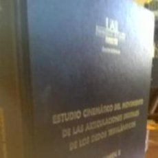 Libros de segunda mano: ESTUDIO CINEMÁTICO DEL MOVIMIENTO DE LAS ARTICULACIONES DIGITALES Y DE LOS DEDOS TRIFLÁNGICOS TOMO 2. Lote 184916960