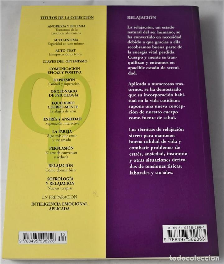 Libros de segunda mano: Relajación. Cómo dormir bien. Muñoz, Manuel - Foto 2 - 185974802