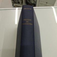 Livres d'occasion: TRATADO DE PSIQUIATRÍA EUGEN BLEULER ESPASA CALPE 1971 ENCUADERNACIÓN TELA. Lote 186428900