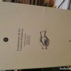 Libros de segunda mano: FUNDAMENTOS DE LOS CUIDADOS PALIATIVOS, CUIDADOS PALIATIVOS. Lote 186432837