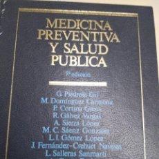 Libros de segunda mano: MEDICINA PREVENTIVA Y SALUD PUBLICA. Lote 187386887