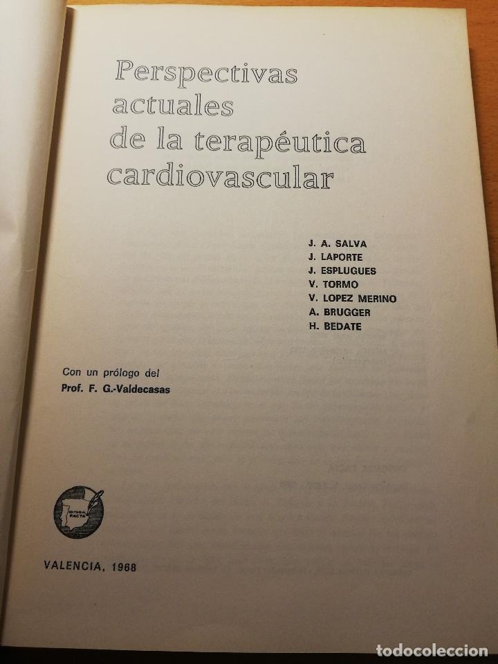 Libros de segunda mano: PERSPECTIVAS ACTUALES DE LA TERAPEUTICA CARDIOVASCULAR (VV. AA.) EDITORIAL FACTA - Foto 2 - 188602465
