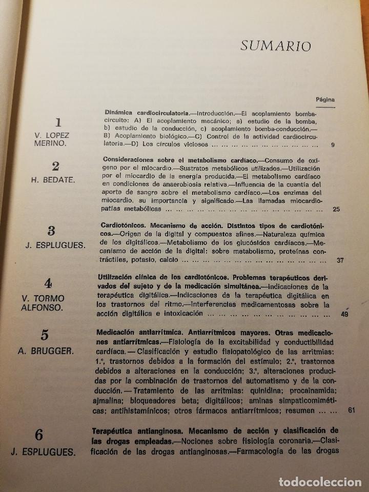 Libros de segunda mano: PERSPECTIVAS ACTUALES DE LA TERAPEUTICA CARDIOVASCULAR (VV. AA.) EDITORIAL FACTA - Foto 3 - 188602465
