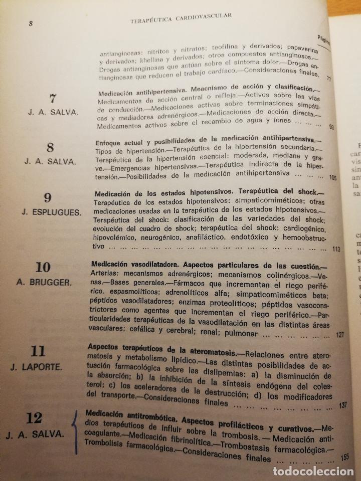 Libros de segunda mano: PERSPECTIVAS ACTUALES DE LA TERAPEUTICA CARDIOVASCULAR (VV. AA.) EDITORIAL FACTA - Foto 4 - 188602465