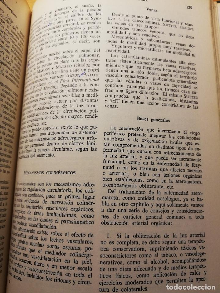 Libros de segunda mano: PERSPECTIVAS ACTUALES DE LA TERAPEUTICA CARDIOVASCULAR (VV. AA.) EDITORIAL FACTA - Foto 6 - 188602465