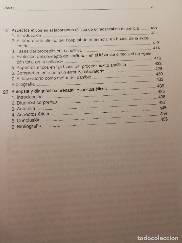 Libros de segunda mano: ENSAYOS DE BIOÉTICA - 3 (FUNDACIÓN MAPFRE MEDICINA) - Foto 7 - 188602756