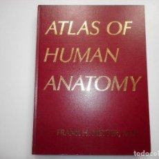 Libros de segunda mano: FRANK H. NETTER, M.D. ATLÁS OF HUMAN ANATOMY (INGLÉS) Y97568 . Lote 188643211