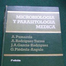 Libros de segunda mano: MICROBIOLOGIA Y PARASITOLOGIA MÉDICA 2ª EDICION SALVAT. Lote 189730025