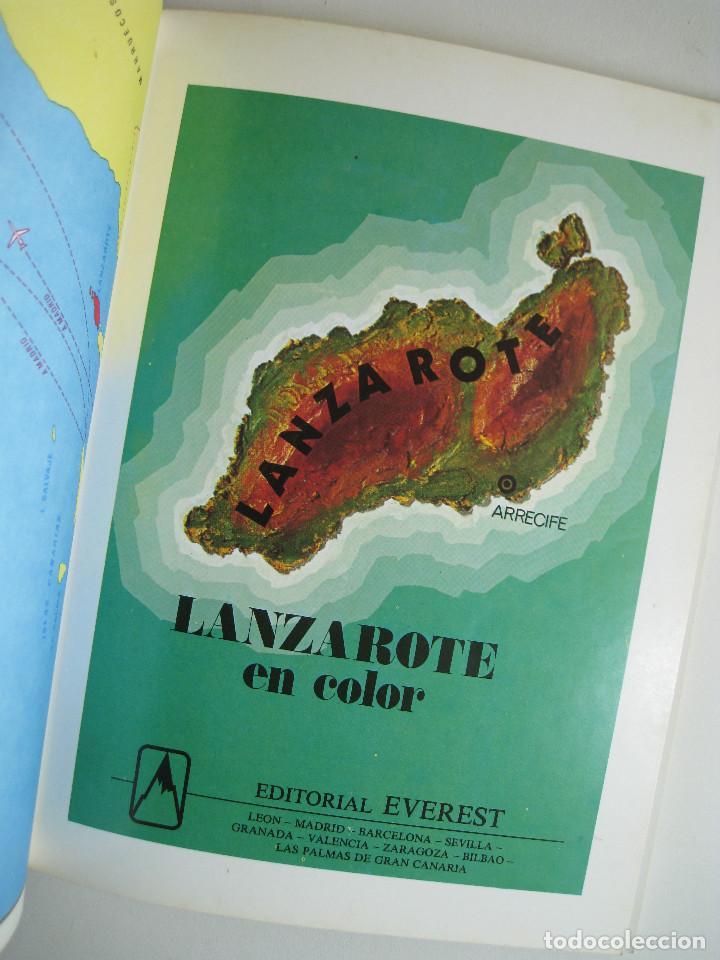 Libros de segunda mano: LANZAROTE EN COLOR. COLECCIÓN IBÉRICA. EDITORIAL EVEREST. 1978. ESPAÑOL, FRANÇAIS, ENGLISH, DEUTSCH. - Foto 2 - 189882951