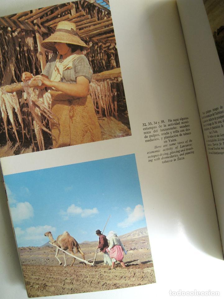 Libros de segunda mano: LANZAROTE EN COLOR. COLECCIÓN IBÉRICA. EDITORIAL EVEREST. 1978. ESPAÑOL, FRANÇAIS, ENGLISH, DEUTSCH. - Foto 3 - 189882951