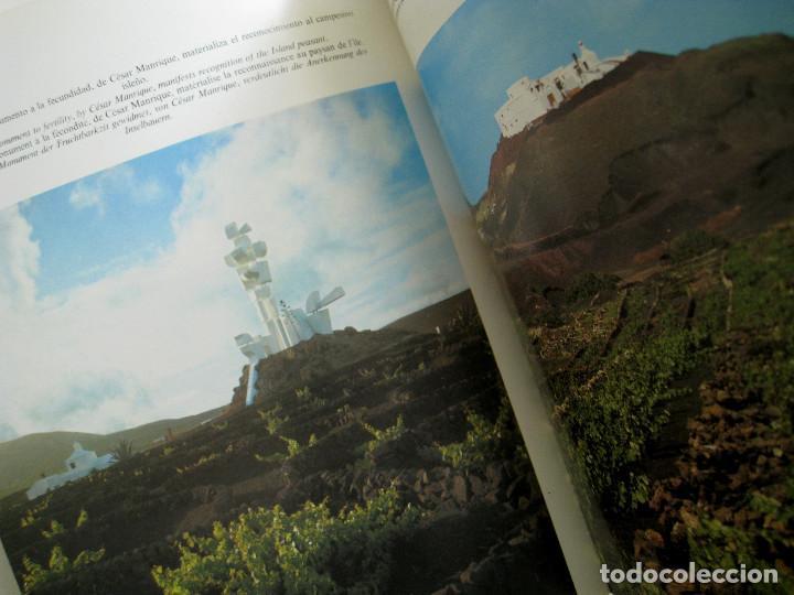Libros de segunda mano: LANZAROTE EN COLOR. COLECCIÓN IBÉRICA. EDITORIAL EVEREST. 1978. ESPAÑOL, FRANÇAIS, ENGLISH, DEUTSCH. - Foto 7 - 189882951