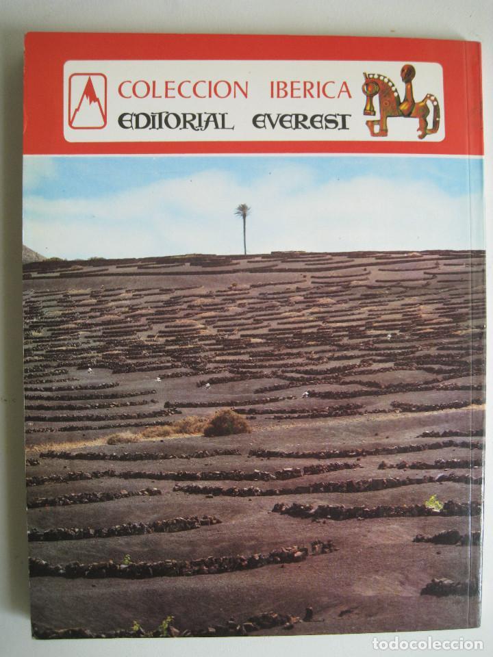 Libros de segunda mano: LANZAROTE EN COLOR. COLECCIÓN IBÉRICA. EDITORIAL EVEREST. 1978. ESPAÑOL, FRANÇAIS, ENGLISH, DEUTSCH. - Foto 9 - 189882951