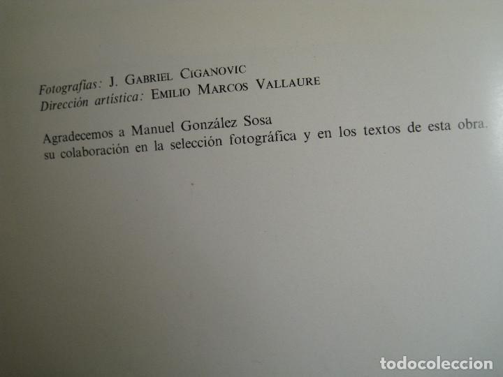 Libros de segunda mano: LANZAROTE EN COLOR. COLECCIÓN IBÉRICA. EDITORIAL EVEREST. 1978. ESPAÑOL, FRANÇAIS, ENGLISH, DEUTSCH. - Foto 11 - 189882951