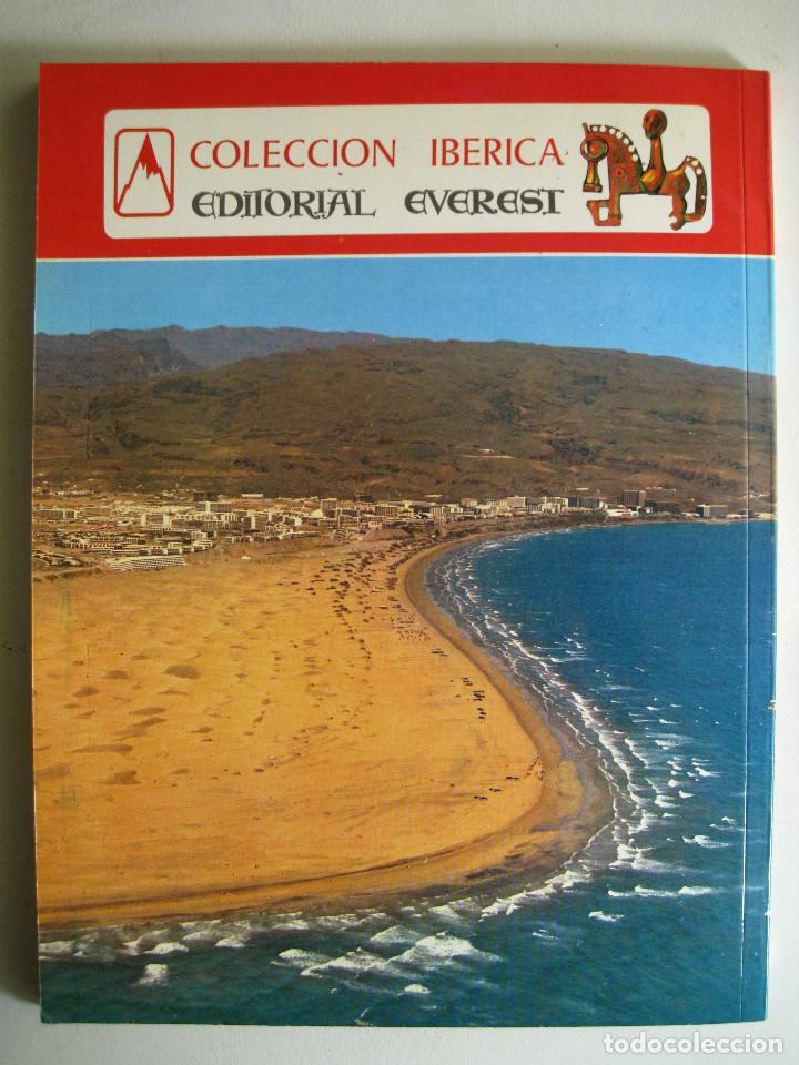 Libros de segunda mano: GRAN CANARIA EN COLOR. COLECCIÓN IBÉRICA. ED. EVEREST 1978. ESPAÑOL, FRANÇAIS, ENGLISH, DEUTSCH. - Foto 7 - 189884616