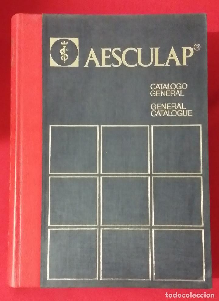 AESCULAP - CATALOGO GENERAL INSTRUMENTOS QUIRURGICOS (Libros de Segunda Mano - Ciencias, Manuales y Oficios - Medicina, Farmacia y Salud)